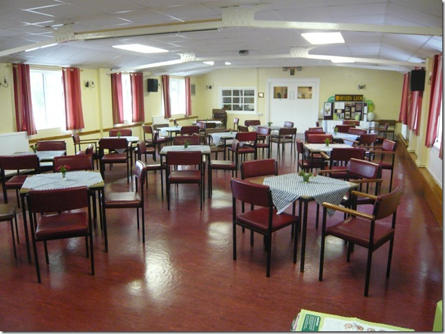 Hall hire for functions, parties and events in Wiltshire